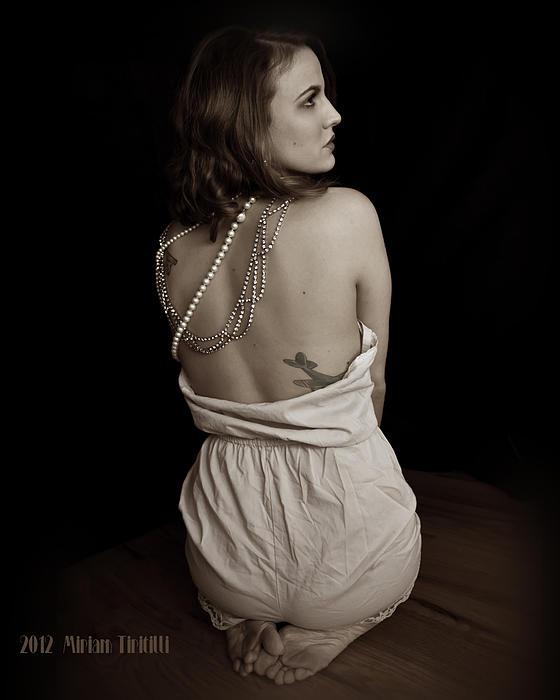 Cara Toes Photograph by Miriam Tiritilli