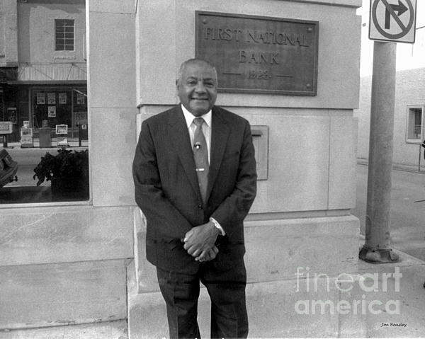 Afro American Photograph - Carl Rowen In Mcminnville Tennessee  by   Joe Beasley