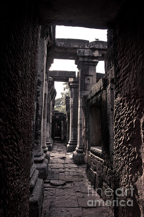 Fortress Photograph - Castle by Thammasak Kanjananul