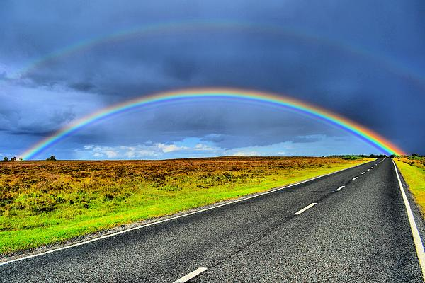 Rainbow Photograph - Catch The Rainbow by Dave Woodbridge