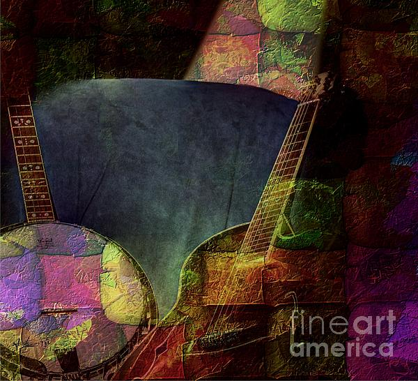 Acoustic Photograph - Changing Tune By Steven Langston by Steven Lebron Langston