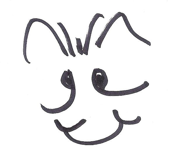 Cartoon Characters Drawing - Character Creation - Bridgeget by Brett Smith
