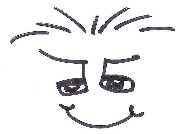 Cartoon Characters Drawing - Character Creation - Maxib by Brett Smith