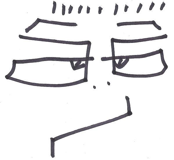 Cartoon Characters Drawing - Character Creation - Bgul by Brett Smith