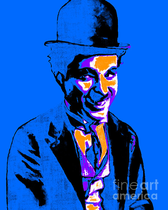 Charlie Photograph - Charlie Chaplin 20130212m145 by Wingsdomain Art and Photography