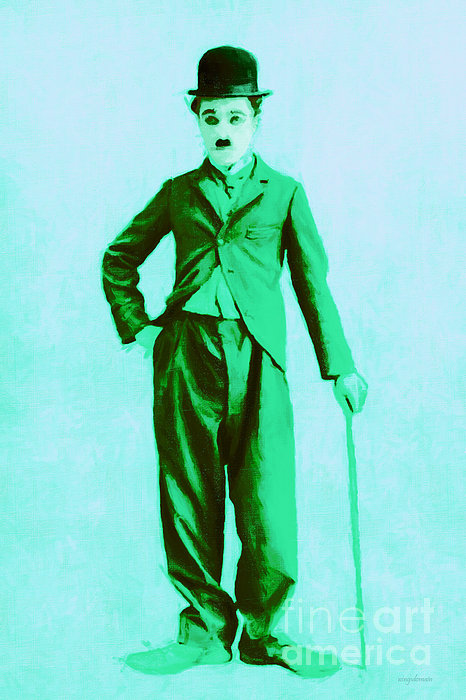 Charlie Photograph - Charlie Chaplin The Tramp 20130216m150 by Wingsdomain Art and Photography