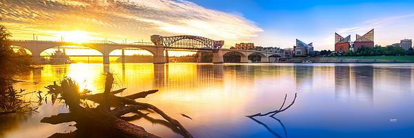 Chattanooga Photograph - Chattanooga Sunrise 2 by Steven Llorca