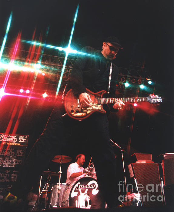 Cheap Trick Photograph - Cheap Trick-95-rick-3 by Gary Gingrich Galleries