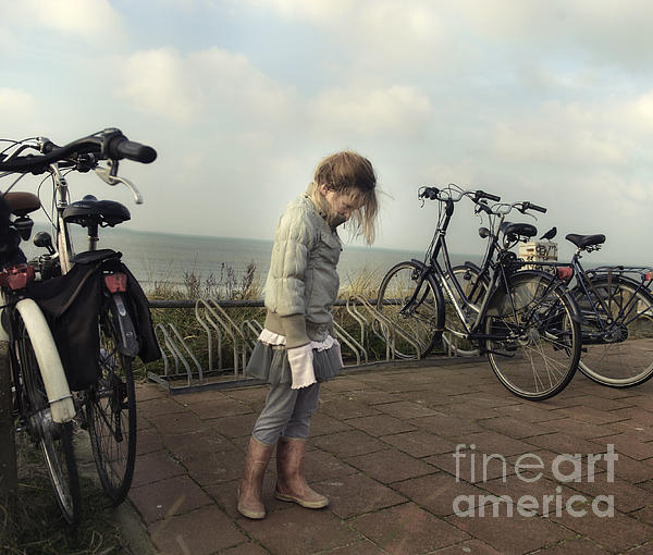 Child Photograph - Child In Time by Michel Verhoef