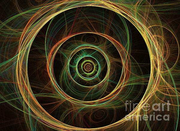 Apophysis Digital Art - Chirality by Kim Sy Ok