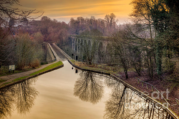 1801 Photograph - Chirk Aqueduct by Adrian Evans