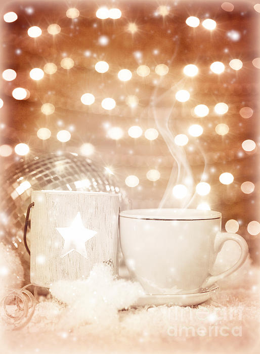 Aroma Photograph - Christmastime Coffee by Anna Om