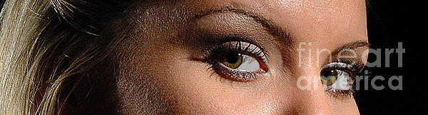Woman Photograph - Christy Eyes 89 by Gary Gingrich Galleries