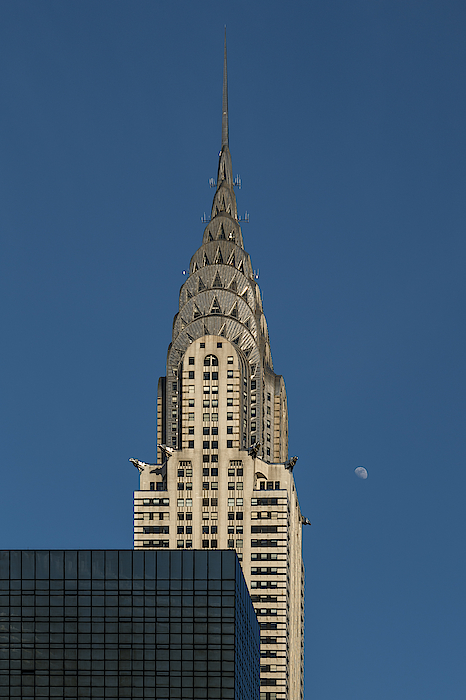 Chrysler Building And The Moon Photograph by Daniele Carotenuto Photography