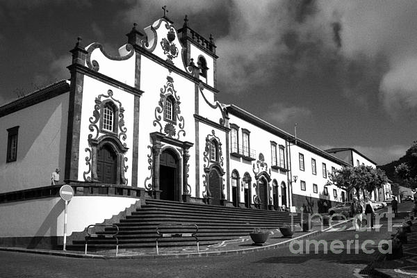 Church Photograph - Church In Vila Franca Do Campo by Gaspar Avila