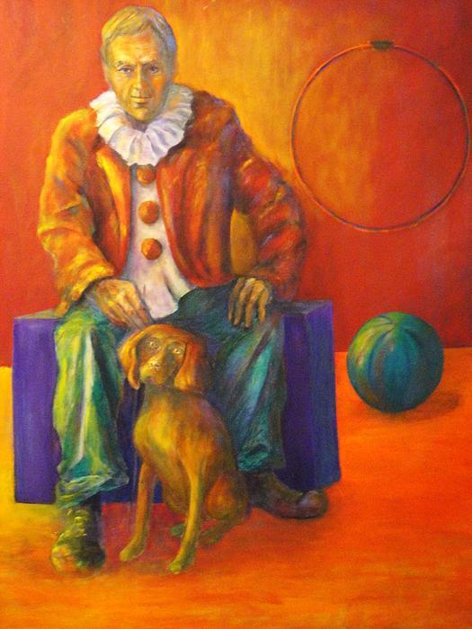 Circus Painting - Circus by Dagmar Helbig