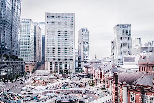 Cityscape Against Sky At Tokyo Station Photograph by Koukichi Takahashi / EyeEm
