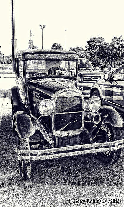 Car Photograph - Classic Car by Gerry Robins