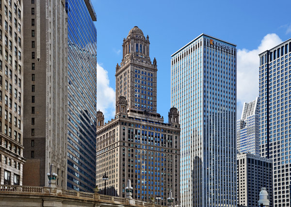Deco Photograph - Classic Chicago -  The Jewelers Building by Christine Till