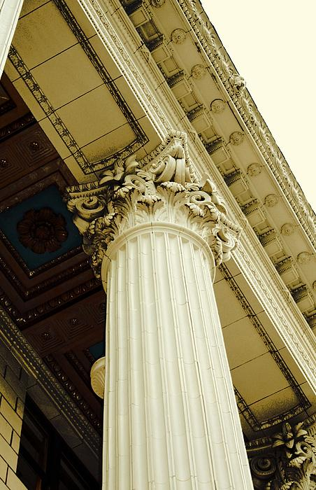 Columns Photograph - Classic Column by Cathie Tyler