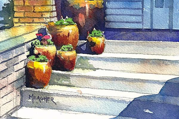 Crockery Painting - Clay Pots by Spencer Meagher
