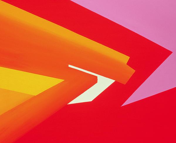 Sharp Edges Painting - Climax by Izabella Godlewska de Aranda