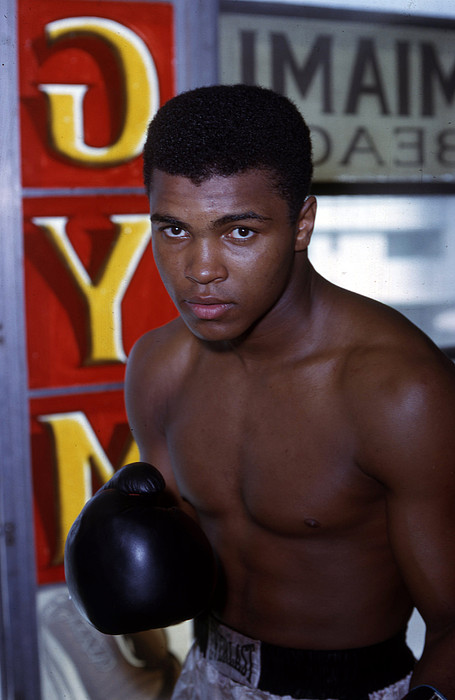 Marvin Newman Photograph - Close Up Of Muhammad Ali by Retro Images Archive
