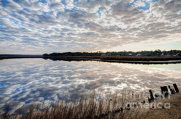 Water Photograph - Clouded Reflection by Joan McCool