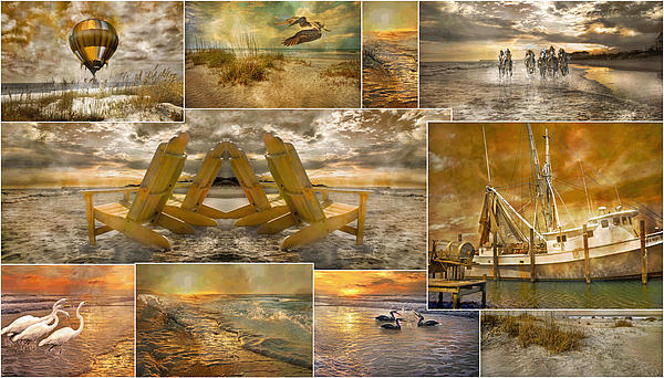 Topsail Photograph - Coastal Connections by Betsy Knapp