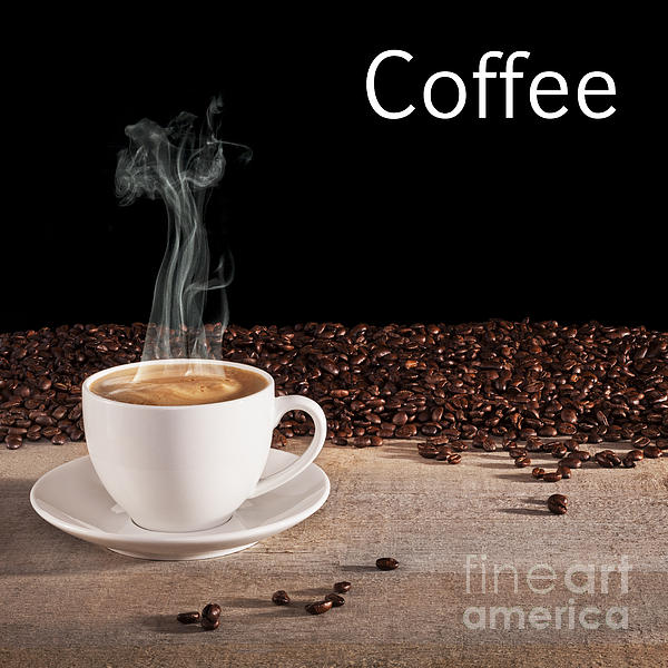 Coffee Photograph - Coffee Concept by Colin and Linda McKie