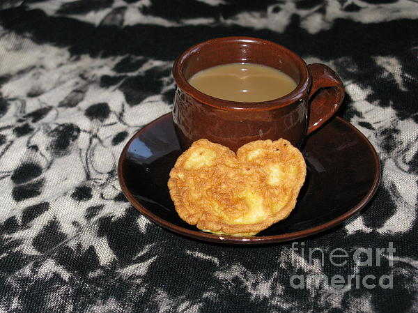 Photograph - Coffee Served With Love by Ausra Huntington nee Paulauskaite