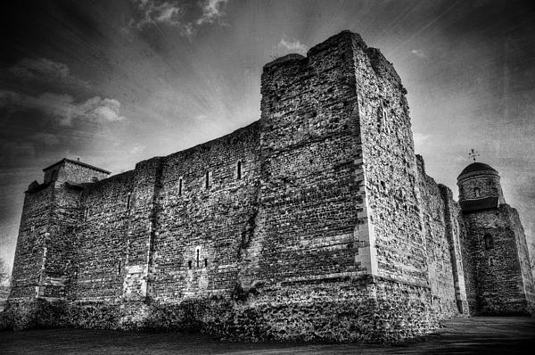 Abbey Photograph - Colchester Castle by Svetlana Sewell