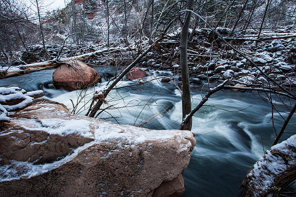 Landscape Photograph - Cold Drift by Bill Cantey
