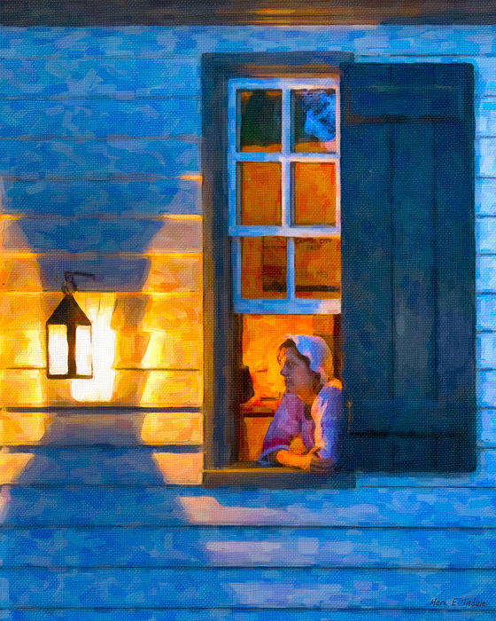 Williamsburg Photograph - Colonial Williamsburg By Night by Mark E Tisdale