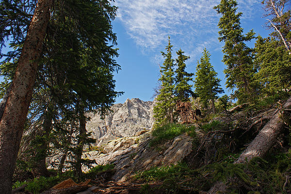 Landscape Photograph - Colorado Mountain Hike by Michael J Bauer