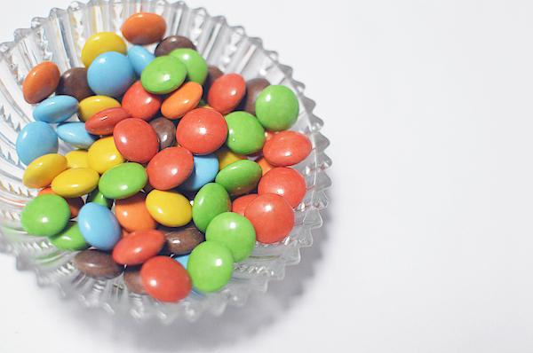 Colorful Chocolate Candies Photograph by Irina Marwan