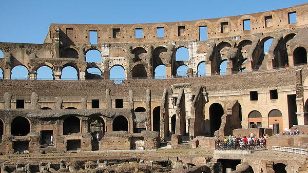 Colossem Rome  Photograph by Suzy  Godefroy