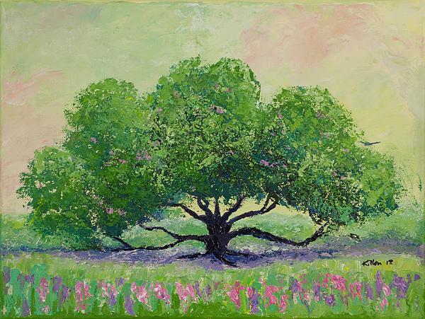 Killen Painting - Comfort by William Killen
