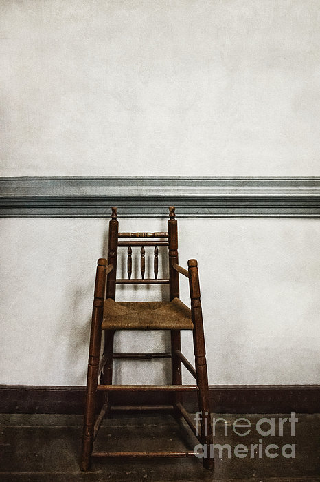 High Chair Photograph - Comforts Of Home by Margie Hurwich