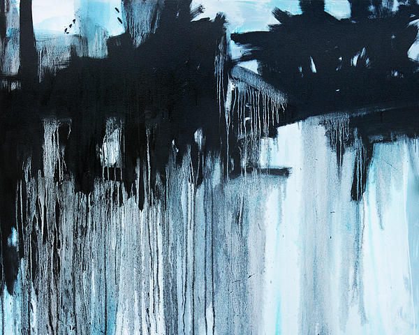 Abstract Painting - Connections  C2014 by Paul Ashby