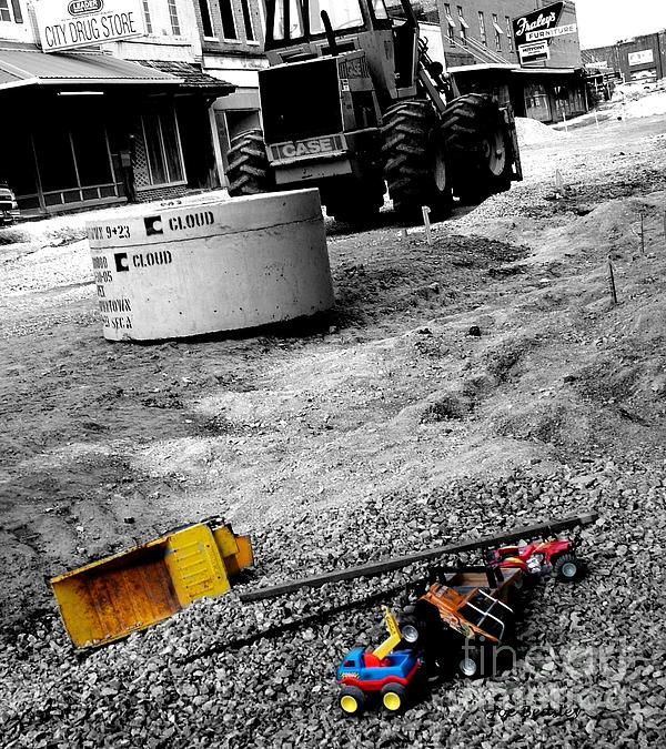 City Photograph - Construction Site by   Joe Beasley