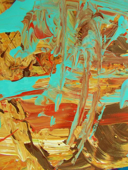 Original Painting - Cosmic Energy by Artist Ai
