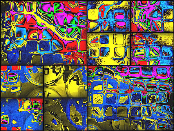 Digital Digital Art - Counting Colors by Wendy J St Christopher