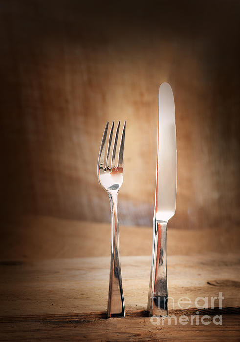Antique Photograph - Country Place Setting. by Mythja  Photography