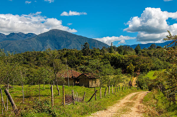 Countryside Photograph - Countryside In Boyaca Colombia by Jess Kraft