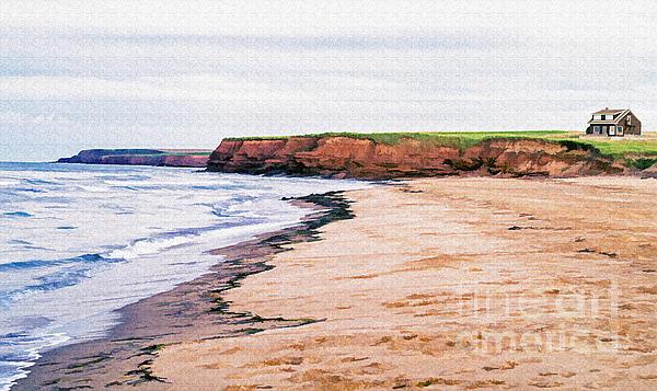 Prince Photograph - Cousins Shore Prince Edward Island by Edward Fielding