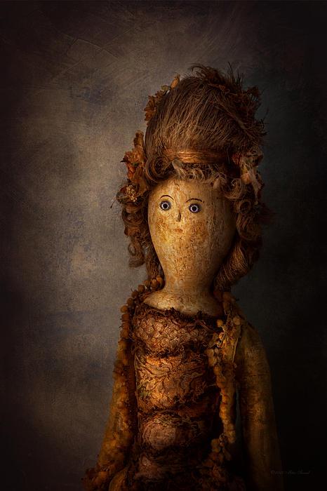 Halloween Photograph - Creepy - Doll - Matilda by Mike Savad