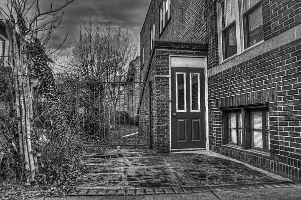 Gate Photograph - Creepy Gate by Tim Buisman