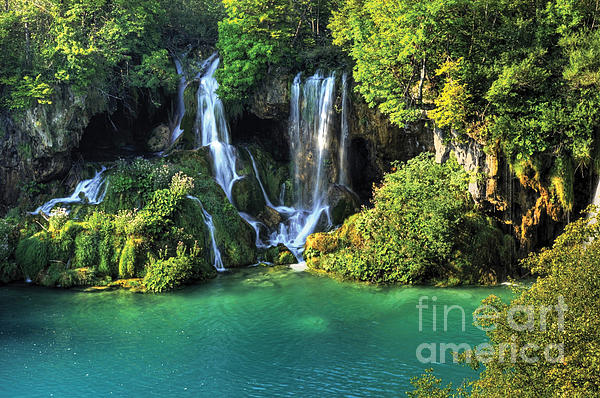 Landscape Paintings Photograph - Croatia Travel by Boon Mee