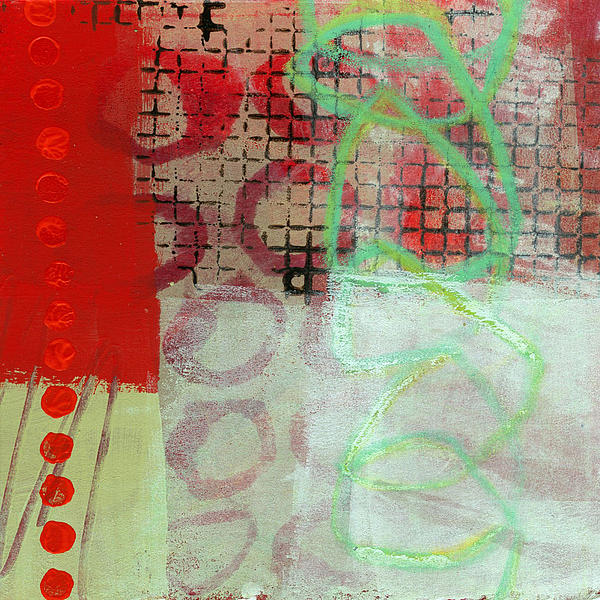 Abstract Painting - Crossroads 30 by Jane Davies